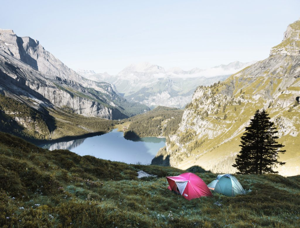 adventure, camping, mountains